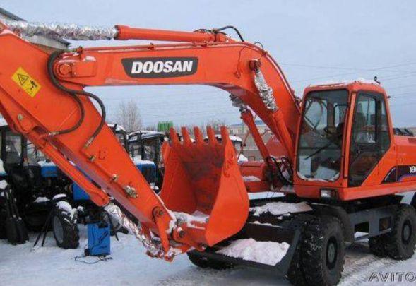 Аренда колёсного экскаватора Doosan Solar 180 w-v